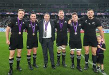 Swansong match for All Blacks leadership group of Five