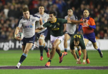 Scotland Rugby team scheduled to face South Africa in 2020