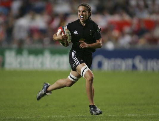 Dual role for Selica Winiata; player and Rugby Sevens Referee