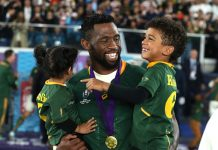 Springboks Rugby World Cup Victory