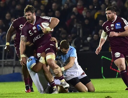 Best-placed French Top14 teams prior to Six Nations window