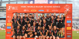 Goldrush for New Zealand Sevens in Cape Town