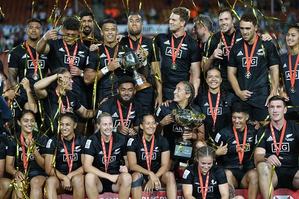 NZ Sevens success in sizzling hot conditions
