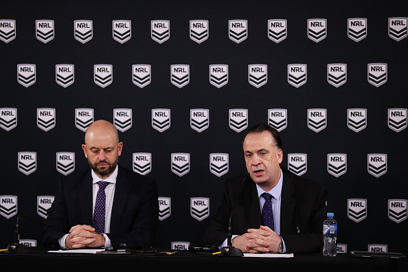 May 28th NRL restart planned without CEO Todd Greenberg