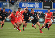 Alex Lewington Has Resigned For Saracens