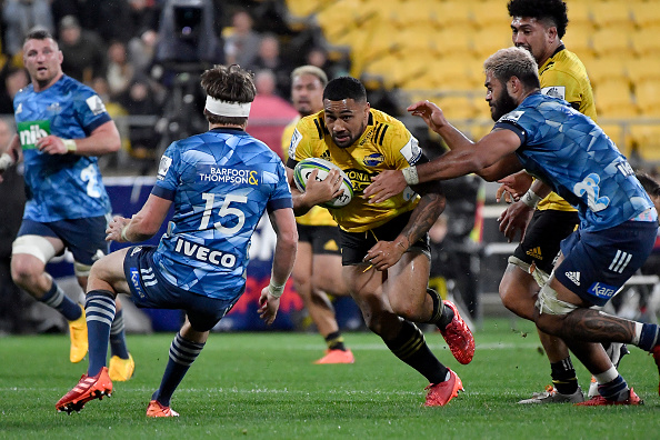 Blistering pace and power of Ngani Laumape