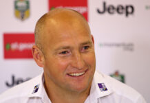 Nathan Brown signed as NZ Warriors 2021 head coach