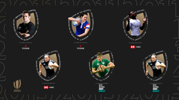 Virtual 2020 Rugby Awards highlight greatest players of the Decade
