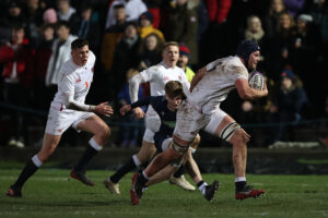 Promising England Rugby U20 future