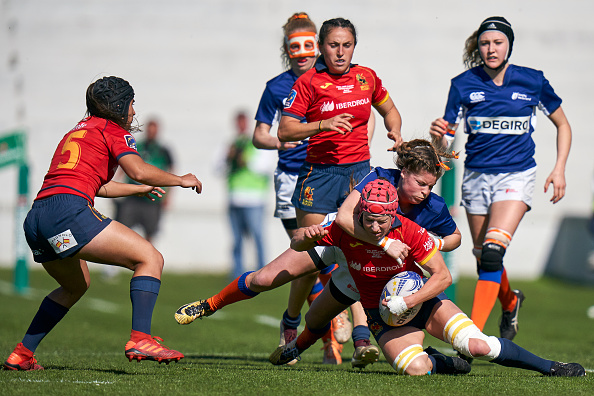 Spain savages Russia in 2020 Rugby Europe Women's Championship