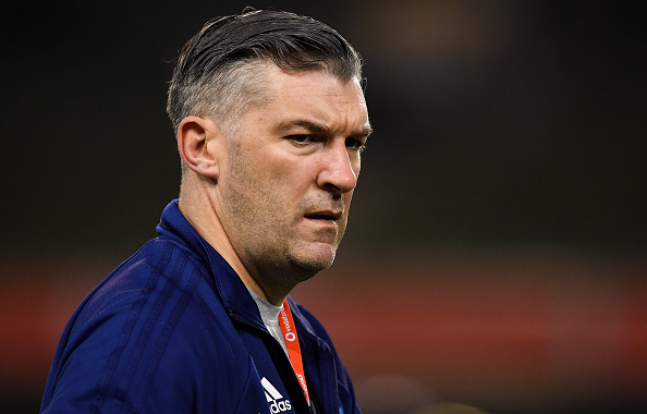 The USA Rugby assistant coach Greg McWilliams before the Guinness Series International match, where they faced Ireland