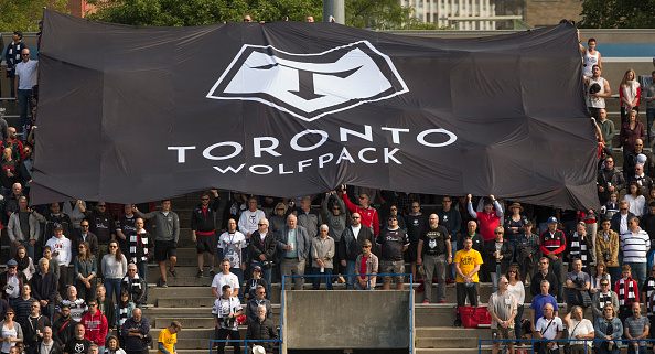 Toronto Wolfpack facing the Widnes Vikings in 2018