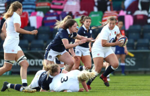 Red Roses England women's rugby team secure win against Scotland