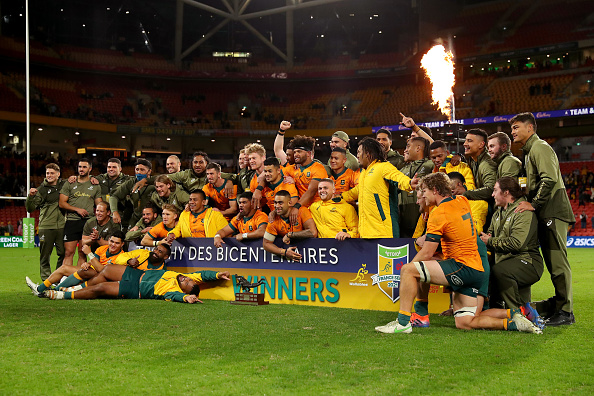 Fighting Wallabies spirit sees 2-1 French Test series win