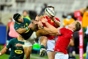Lions defeat Springboks