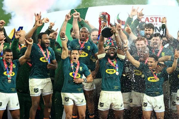 Springboks beat the Lions