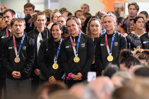 New Zealand Black Ferns 7s team celebrated by ANOC Awards 2021