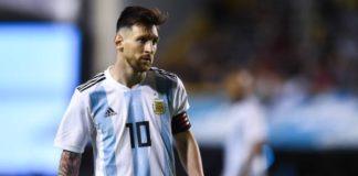 Lionel Messi's Rhythm