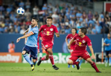 New York Red Bulls Tie NYCFC