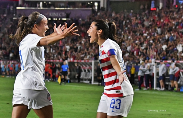 USWNT Claims Victory