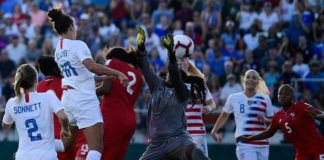 USWNT Clinches Playoff Round Spot
