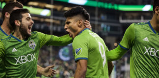 Ruidiaz and Seattle Sounders