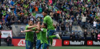 Seattle Sounders FC Sounders and LAFC