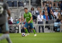 Seattle Sounders FC Ozzie Alonso