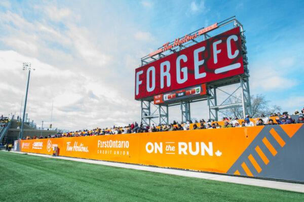 Hamilton Forge FC win