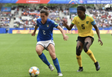 Jamaica loss to Italy