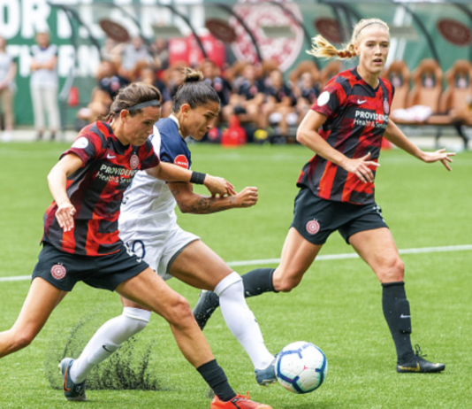 NWSL Portland Thorns record