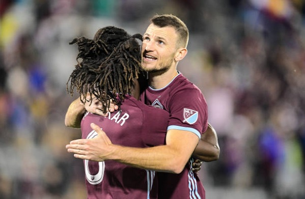 Colorado Rapids center backs