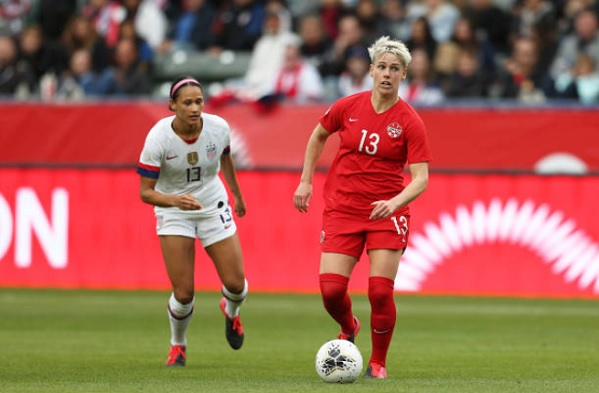 Canada USA CONCACAF Olympic Qualifying Final