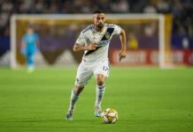Sebastian Lletget LA Galaxy midfield