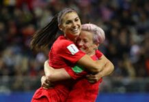 rescheduled Olympics uswnt