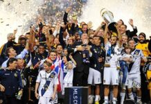LA Galaxy Mount Rushmore