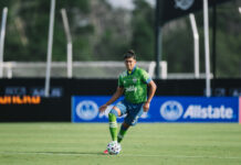 Xavier Arreaga Seattle Sounders
