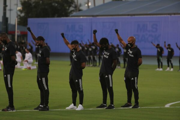 MLS Black Players For Change