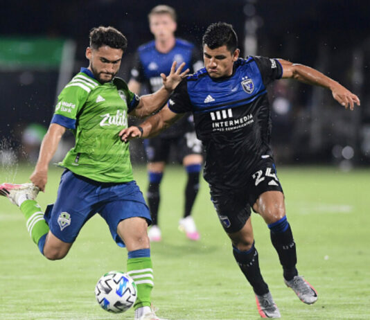 Seattle vs. San Jose MLS is Back