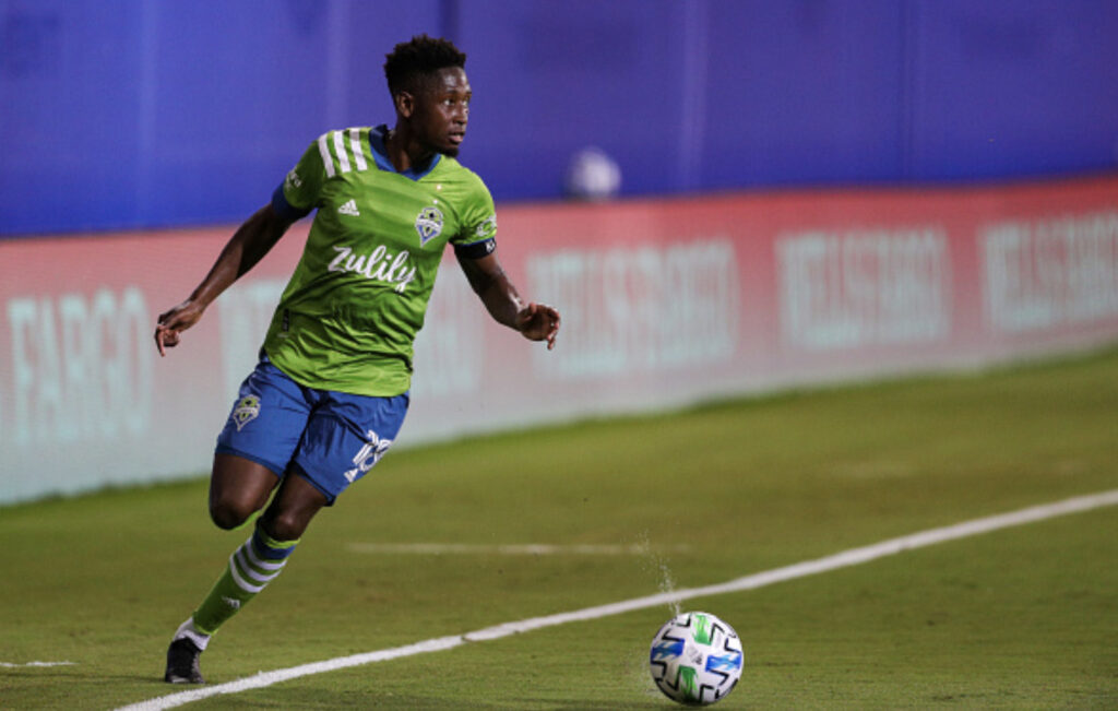 Kelvin Leerdam Seattle Sounders