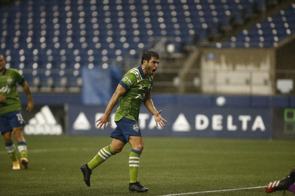 Nico Lodeiro Seattle Sounders