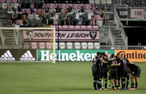 Inter Miami Huddle