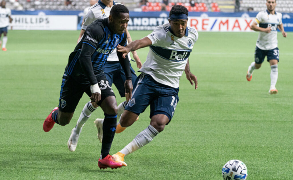 Fredy Montero and the Whitecaps