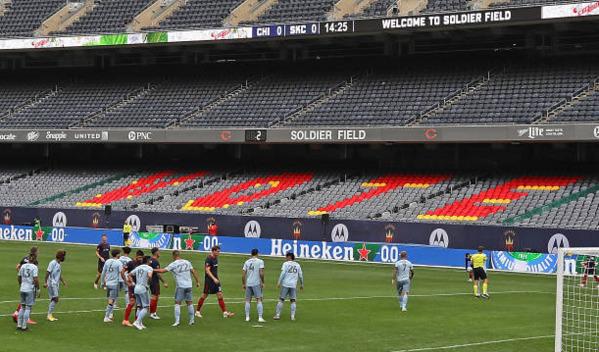 Djordje Mihailovic Chicago Fire Sporting KC
