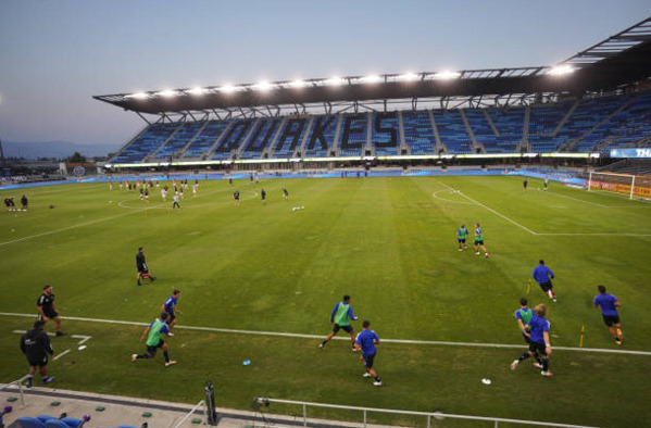 Earthquakes Stadium Pitch