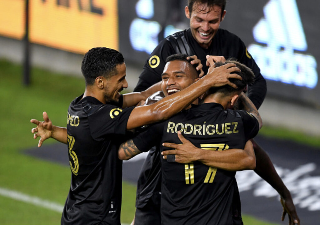 LAFC clinch playoff spot