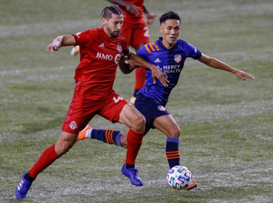 Toronto FC winning streak Omar Gonzalez FC Cincinnati
