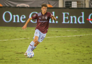 2020 Colorado Rapids season awards Cole Bassett