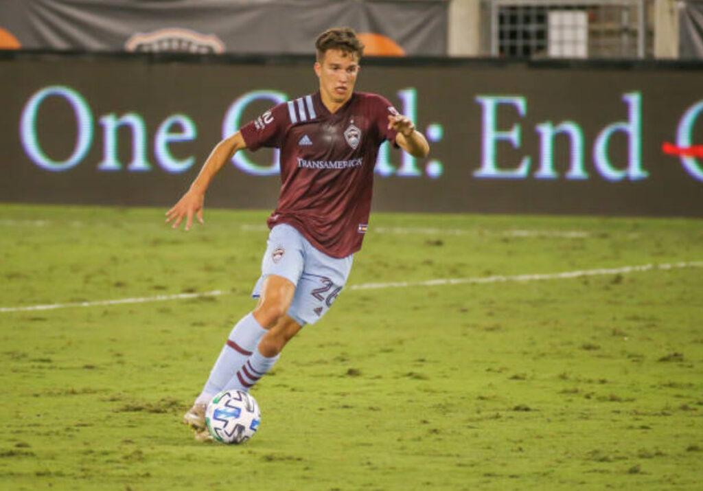2020 Colorado Rapids season awards Cole Bassett