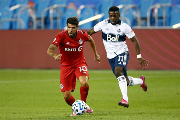 Alejandro Pozuelo Toronto FC 2020 MLS Season Review